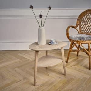 heart table fra intarsia furniture