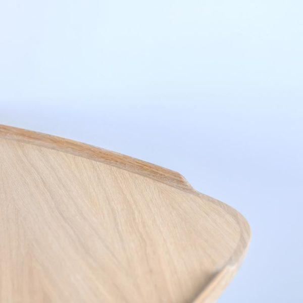 Sofabord lys eg Intarsia Furniture detalje 4