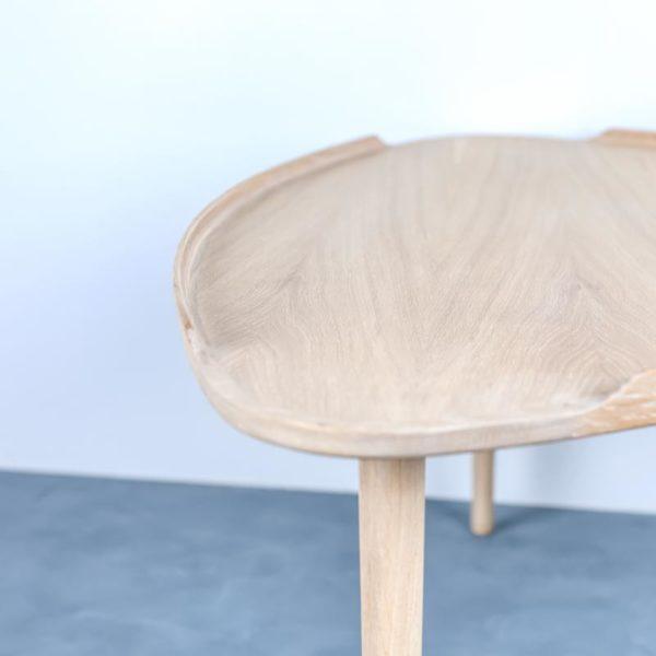 Sofabord lys eg Intarsia Furniture detalje 3
