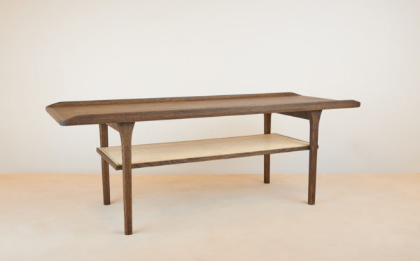 Sofabord med fransk flet