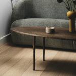 Sofabord i eg, røget eg, Dansk Design