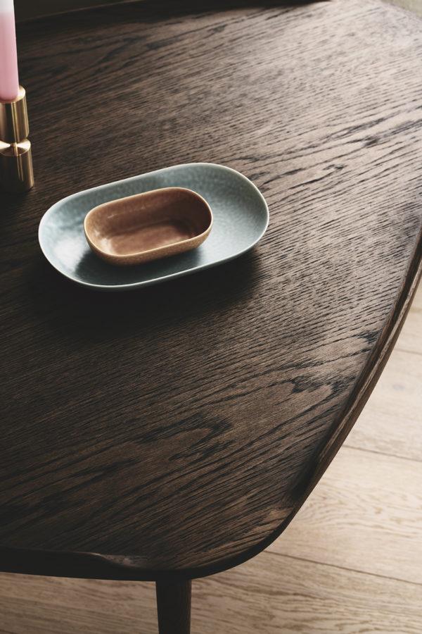 Sofabord røget eg Intarsia Furniture miljø 2
