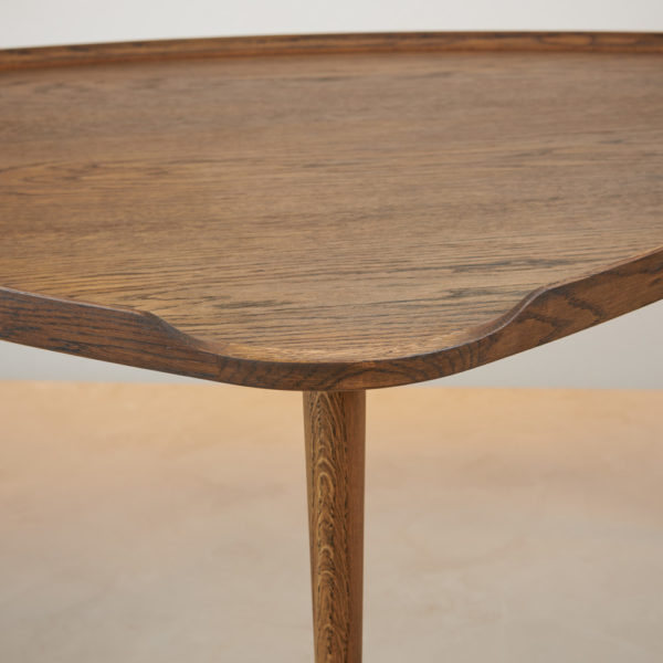 Sofabord røget eg Intarsia Furniture detalje 6