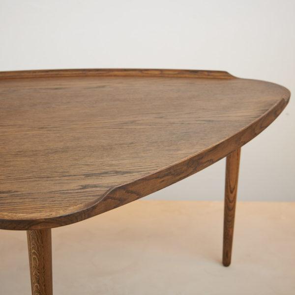 Sofabord røget eg Intarsia Furniture detalje 5