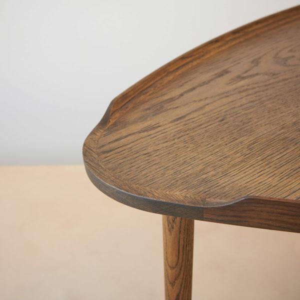Sofabord røget eg Intarsia Furniture detalje 4