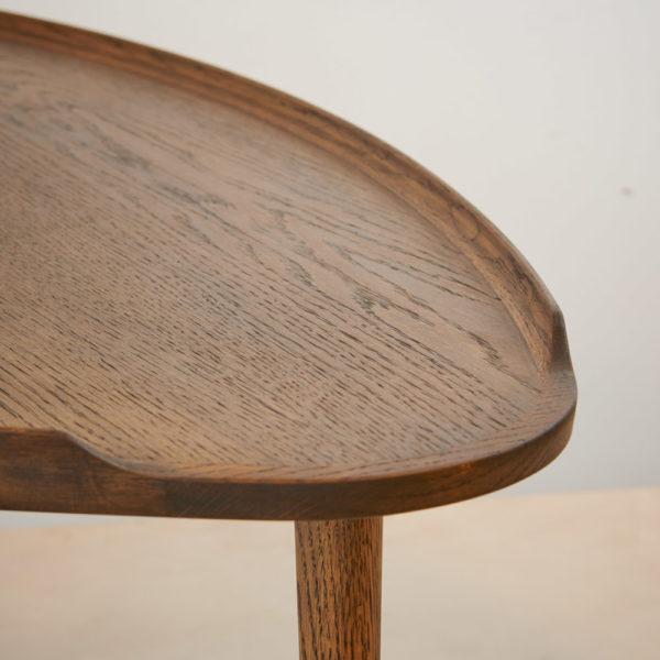 Sofabord røget eg Intarsia Furniture detalje 2