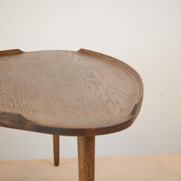 Sofabord røget eg Intarsia Furniture detalje 1