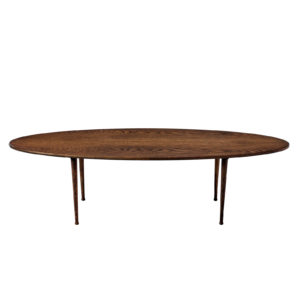 Surf table, oval coffee table
