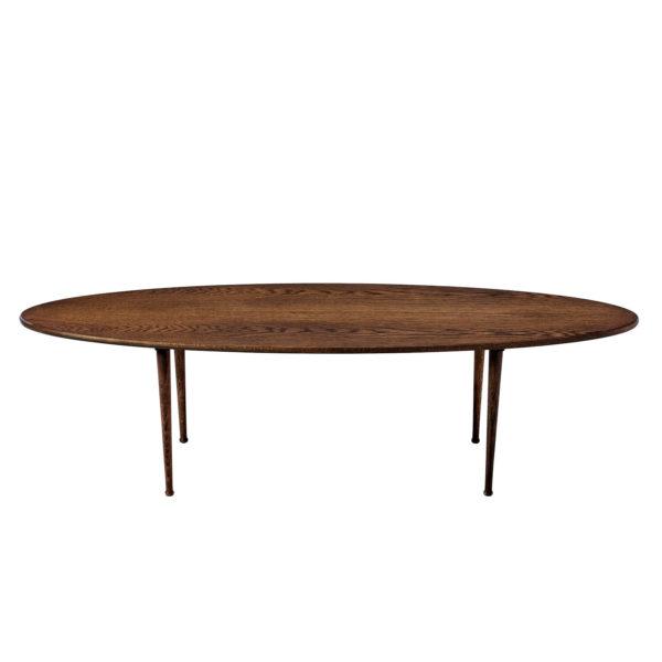 Surf table, ovalt sofabord