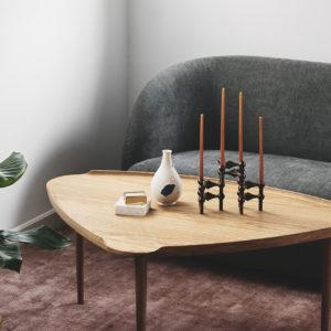 Sofabord natur eg miljø Intarsia Furniture