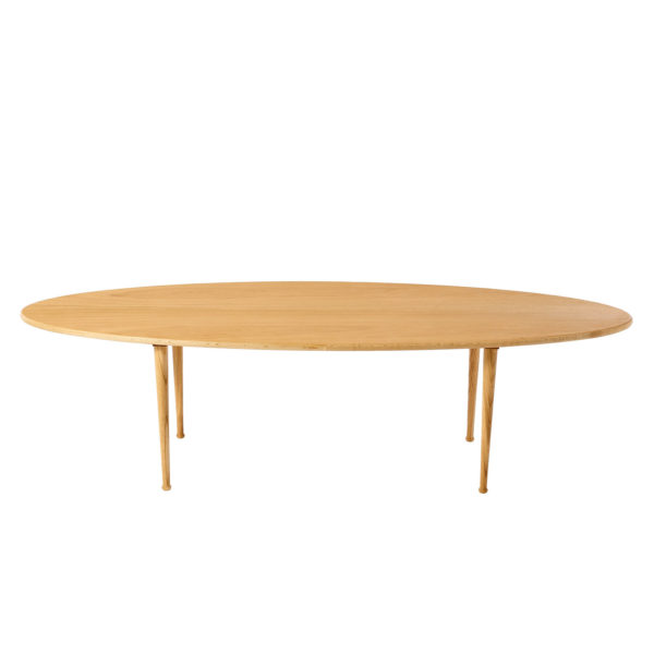 Sofabord, ovalt